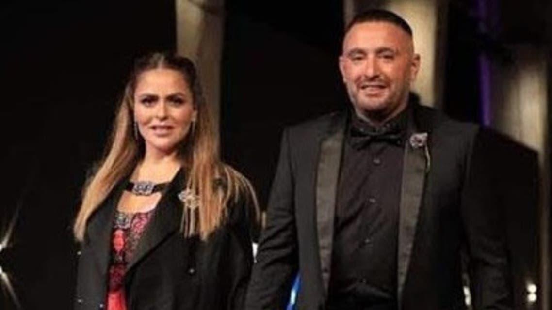 احمد السقا وزوجتة مها الصغير يتألقان في حفل افتتاح مهرجان الجونة