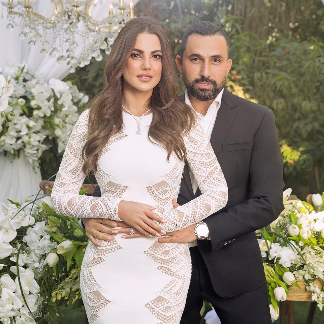 درة تفاجئ الجميع بزواجها من رجل الاعمال هاني سعد