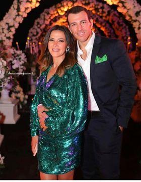 دنيا سمير غانم تشارك متابعيها بصورة جديدة من حفل زفاف درة