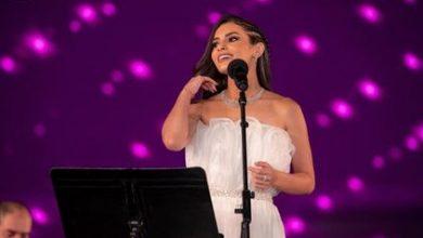"Photo of كارمن سليمان "" سعيدة بمشاركتي في مهرجان الموسيقي العربية """
