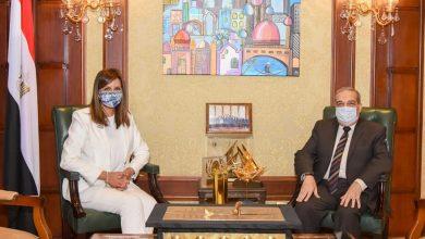 """Photo of وزيرة الهجرة تستقبل وزير الإنتاج الحربي للتنسيق حول استعدادات مؤتمر """"مصر تستطيع بالصناعة"""""""