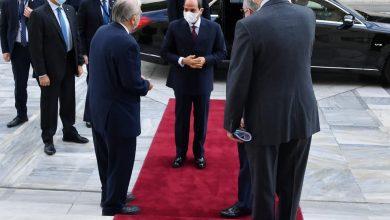 Photo of قام السيد الرئيس عبد الفتاح السيسي اليوم بزيارة لمقر البرلمان اليوناني، وذلك في إطار اليوم الثالث من زيارة سيادته الرسمية إلى أثينا، وكان في استقبال سيادته السيد كونستانتين تاسولاس رئيس البرلمان.
