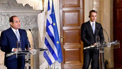 Photo of كلمة السيد الرئيس في المؤتمر الصحفي مع رئيس وزراء اليونان دولة رئيس الوزراء كيرياكوس ميتسوتاكيس