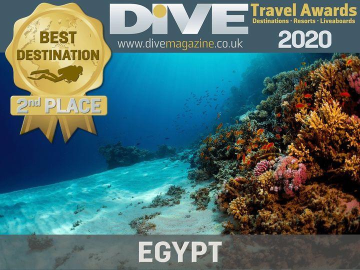 -مصر تفوز بالمركز الثاني كأفضل وجهة للغوص في العالم لعام 2020