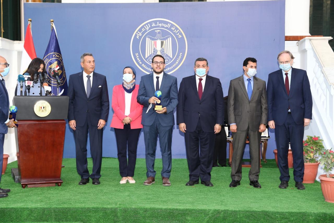 وزارة الدولة للإعلام تعلن عن الفائزين بجوائز مبادرة تنمية بمشاركة وزارات التخطيط والبيئة والشباب