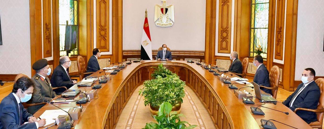 """""""السيد الرئيس يتابع مشروعات شركة تنمية الريف المصري الجديد"""""""