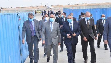 Photo of وزير الطيران المدنى يتفقد أعمال مشروع توسعة مطــار سفنكس الدولى