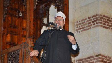 """Photo of وزير الأوقاف خلال خطبة الجمعة من """"مسجد الإمام الشافعي"""" بمحافظة القاهرة :"""