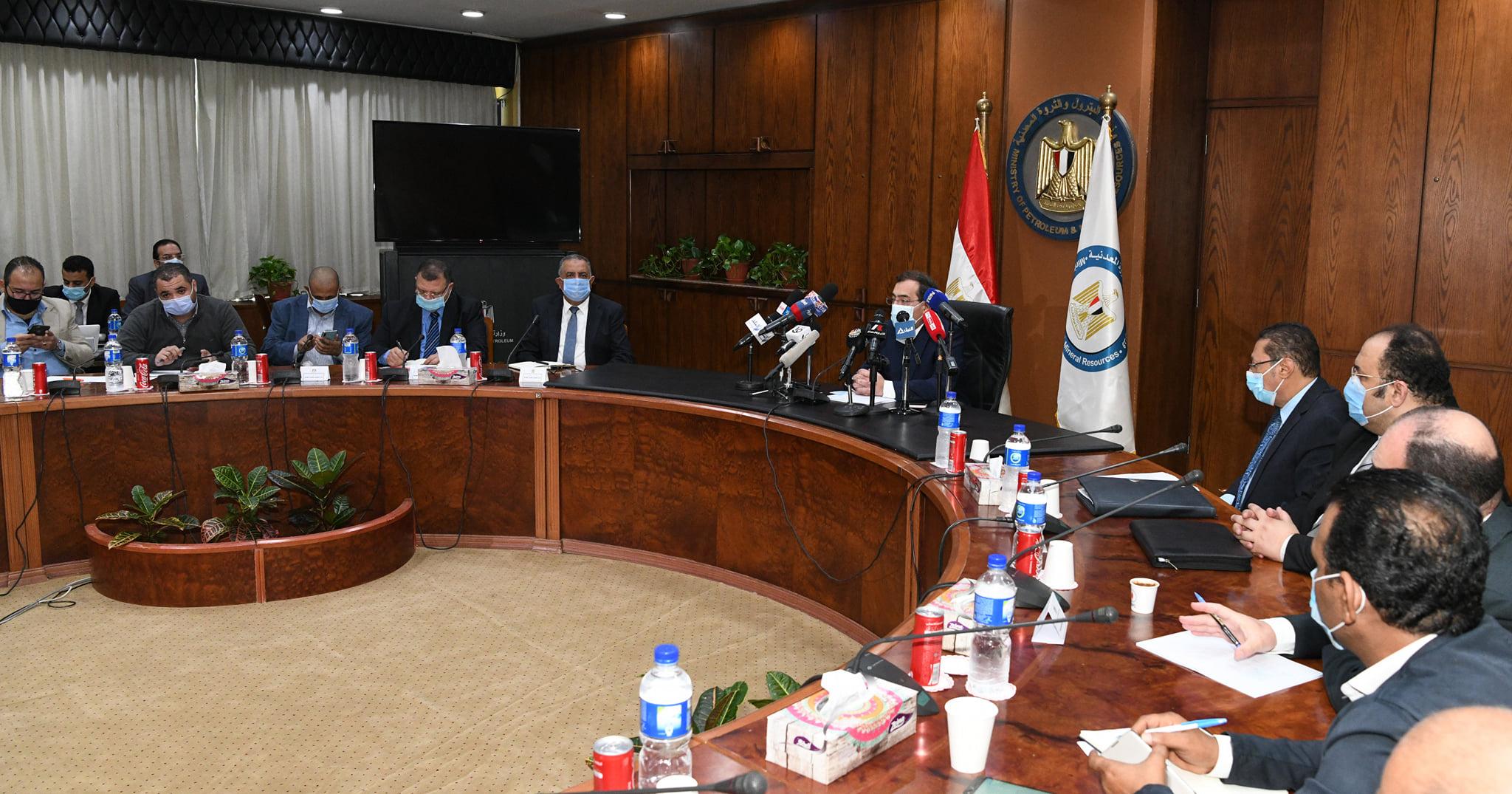 المهندس طارق الملا وزير البترول والثروة المعدنية  فوز 11 شركة عالمية ومصرية بـ82 منطقة للبحث عن الذهب في مصر ضمن أكبر مزايدة عالمية