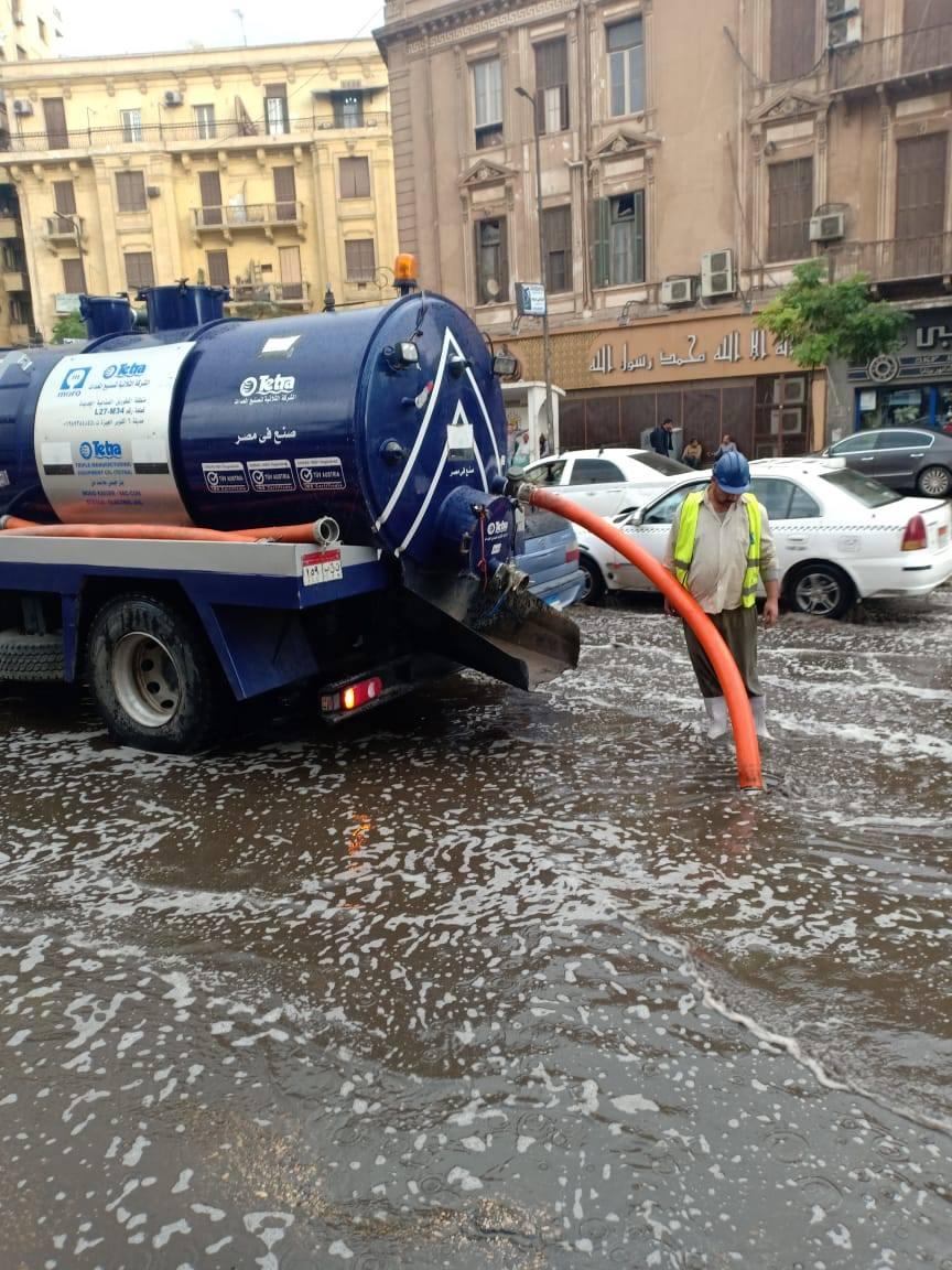 واصل اللواء خالد عبد العال محافظ القاهرة صباح اليوم جولاته بأحياء وشوارع العاصمة