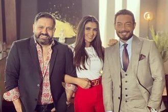 """Photo of مي عمر من كواليس مسلسلها الجديد """"لؤلؤ"""" بصحبة إدوارد و أحمد زاهر"""