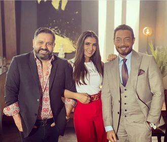 """مي عمر من كواليس مسلسلها الجديد """"لؤلؤ"""" بصحبة إدوارد و أحمد زاهر"""