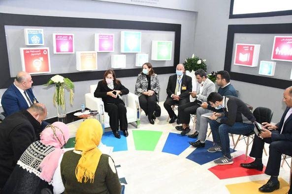 علي هامش فعاليات اليوم الأول من معرض القاهرة الدولي للاتصالات وتكنولوجيا المعلومات