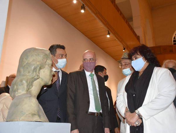 وزيرة الثقافة تعيد افتتاح متحف الفن الحديث بعد تطويره وتقرر استقباله الجمهور مجانا حتى نهاية ديسمبر المقبل