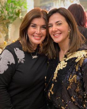 دنيا سمير غانم تهنئ ميرفت أمين بمناسبة عيد ميلادها