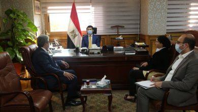 Photo of وزير الشباب والرياضة يلتقي الأمين العام للمنظمة الكشفية العربية
