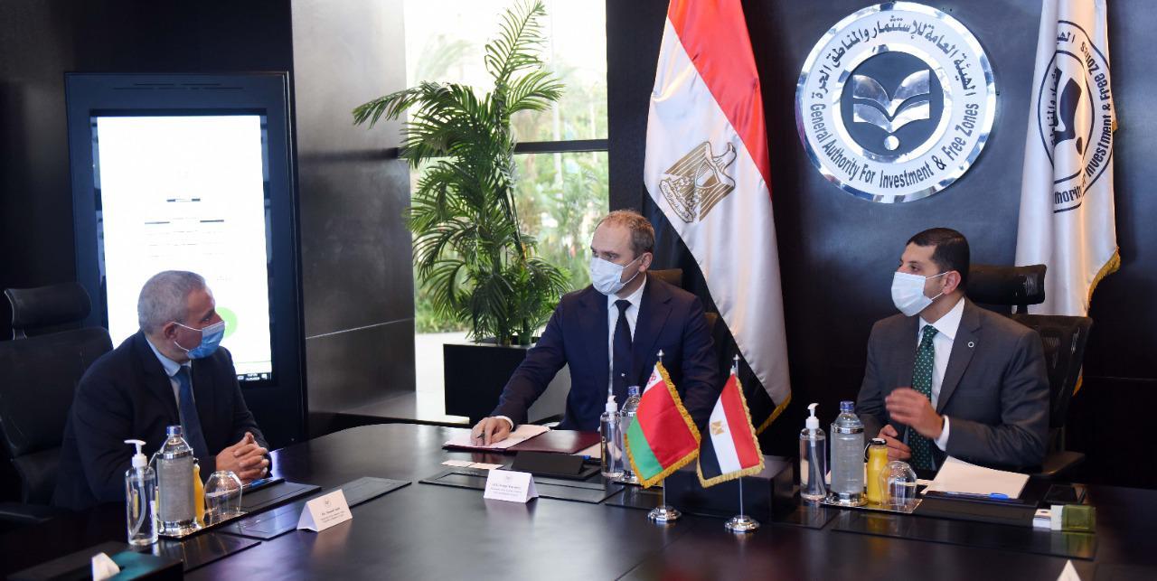 """رئيس """"هيئة الاستثمار"""" يبحث مع السفير البيلاروسي بالقاهرة جذب مزيد من الاستثمارات.. والترتيب لزيارة عدد من كبرى الشركات البيلاروسية إلى مصر"""