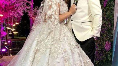 Photo of حفل زفاف هنادي مهني وأحمد خالد صالح بحضور مجموعة كبيرة من نجوم الفن