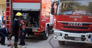 اصابة 35 شخصا فى حريق ضخم بفندق تحت الإنشاء بالغردقة