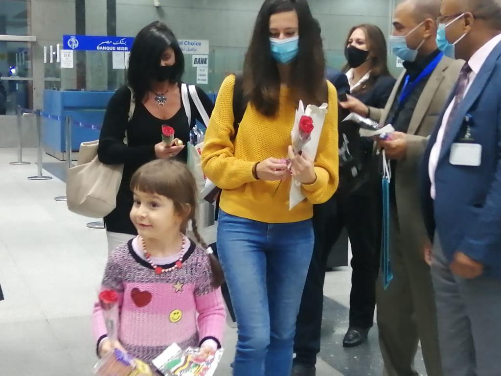 وصول أولى رحلات خط مصر للطيران الجديد بين بودابست والغردقة