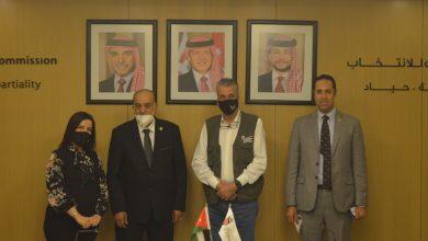 Photo of رئيس وفد البرلمان العربي يلتقي رئيس الهيئة المستقلة للانتخابات بالمملكة الأردنية الهاشمية