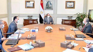 """Photo of الرئيس يتابع """"المشروع القومي لإنشاء وتطوير مراكز تجميع الألبان على مستوى الجمهورية"""""""