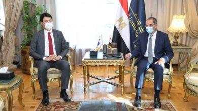 Photo of الدكتور عمرو طلعت وزير الاتصالات وتكنولوجيا المعلومات يبحث مع سفير كوريا الجنوبية بالقاهرة