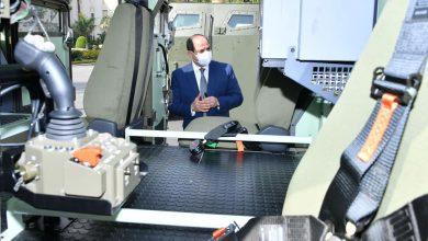 Photo of الرئيس يتفقد عدداً من نماذج المركبات متعددة الاستخدام والتي تم تجهيزها بالقطاع المدني