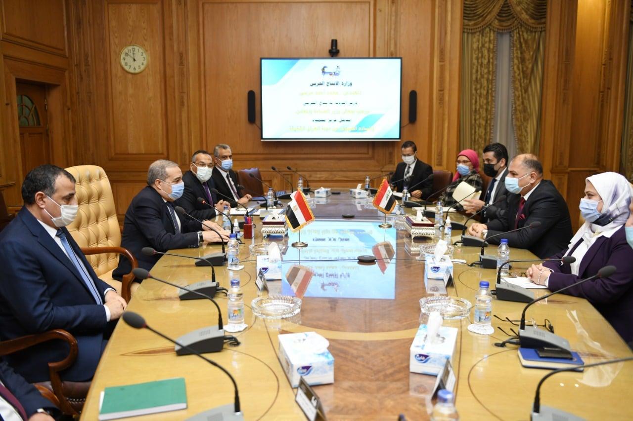 وزير الدولة للإنتاج الحربي: مستعدون لإنشاء خطوط إنتاج متكاملة للجانب العراقي