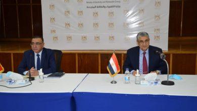 Photo of اجتماع وزيرى الكهرباء المصرى والعراقي مع ممثلى الشركات المصرية العاملة فى مجال الكهرباء والطاقة المتجددة