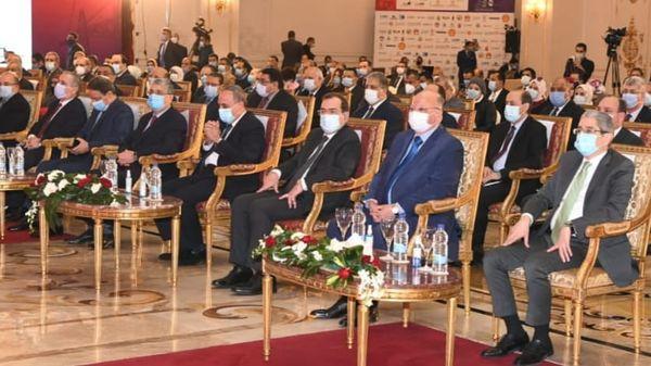 وزير البترول والثروة المعدنية يستعرض نجاحات قطاع البترول والغاز أمام مؤتمر الأهرام الرابع للطاقة