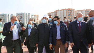 Photo of وزراء الشباب والأوقاف والتنمية المحلية ومحافظ القاهرة يتفقدون مركز شباب الأسمرات
