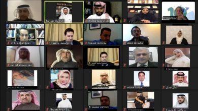 Photo of خلال افتتاحه أعمال المنتدى الحقوقي حول حقوق الإنسان وتطبيقاتها في مجال الذكاء الاصطناعي على مستوى الوطن العربي