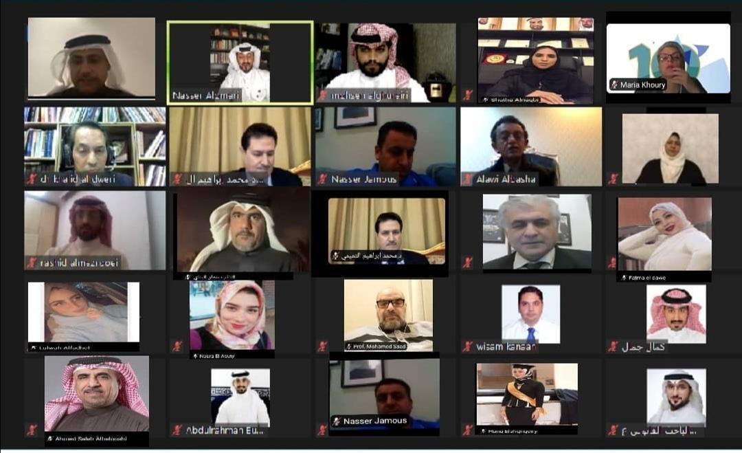 خلال افتتاحه أعمال المنتدى الحقوقي حول حقوق الإنسان وتطبيقاتها في مجال الذكاء الاصطناعي على مستوى الوطن العربي