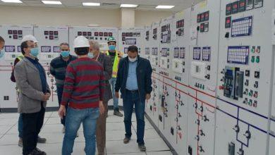 "Photo of مسئولو ""الإسكان"" يتفقدون محطة محولات كهرباء بقدرة 350 م.ف.ا بمدينة بدر"