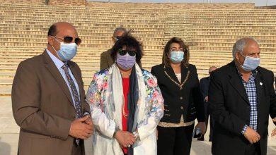 Photo of وزيرة الثقافة ومحافظ اسوان يتفقدان عددا من المشروعات الثقافية والانشائية بالمدينة