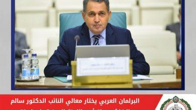 Photo of الدكتور سالم بن الهاشمي يرأس اللجنة المعنية بإعداد تقرير الحالة السياسية في العالم العربي لعام 2020م بالبرلمان العربي