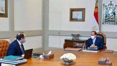 """Photo of """"اجتمع السيد الرئيس عبد الفتاح السيسي اليوم مع السيد عباس كامل رئيس المخابرات العامة"""""""