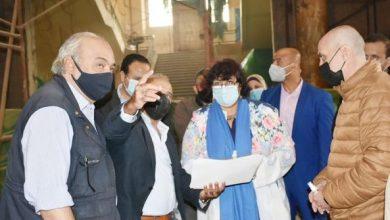 Photo of وزيرة الثقافة تتابع تنفيذ أعمال تطوير متحف الجزيرة للفنون
