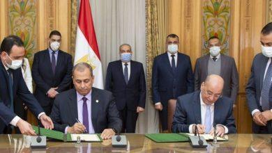 Photo of وزير الإنتاج الحربي يشهد توقيع بروتوكول مع شركة خاصة للطلمبات