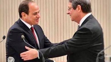 "Photo of ""السيد الرئيس يتشاور هاتفياً مع الرئيس القبرصى بشأن العلاقات الثنائية والقضايا الاقليمية في شرق المتوسط""."