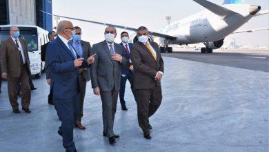 Photo of وزير الطيران المدنى يتفقد أتوبيسات نقل الركاب الجديدة بمصر للطيران للخدمات الأرضية