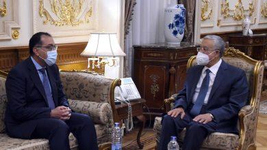 """Photo of رئيس الوزراء يتوجه إلى مقر مجلس النواب لتهنئة المستشار """"جبالي"""" رئيس المجلس"""