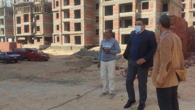 """Photo of رئيس جهاز مدينة ملوى الجديدة يتفقد أعمال تنفيذ 1024 وحدة سكنية بمشروع """" JANNA"""""""