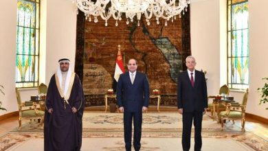 Photo of السيد الرئيس يؤكد أن وحدة المواقف من شأنها أن تمكن الدول العربية من وضع خطوط واضحة لصون محددات الأمن القومي العربى تجاه جميع القضايا