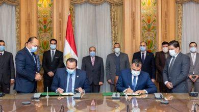 """Photo of وزير الإنتاج الحربي"""" يشهد توقيع بروتوكول تعاون مع الهيئة العامة للرعاية الصحية"""