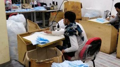 Photo of الحملات التموينية تضبط مصنعا بالمنصورة لتصنيع الكمامات بدون ترخيص ومصادرة 50 الف كمامة غير مطابقة للمواصفات والمعدات ومستلزمات التصنيع والمحافظ يقرر احالة الواقعة للنيابة العامة