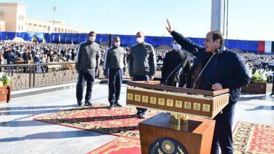 Photo of قام السيد الرئيس عبد الفتاح السيسى فجر اليوم الجمعة بزيارة تفقدية لأكاديمية الشرطة