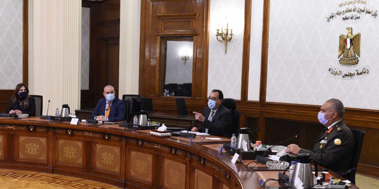 رئيس الوزراء يتابع الموقف التنفيذي لمشروع تطوير عواصم المحافظات والمدن الكبرى