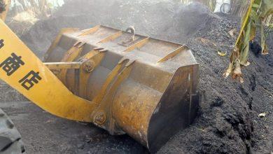 Photo of جهود مستمرة لإزالة مكامير الفحم المخالفة إزالة ٣ مكامير فحم بمركزى دمياط وكفر البطيخ بمساحة ٤٥٠متر خلال الحملة المُنفذة اليوم